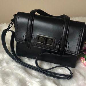 Melie Bianco Convertible Satchel Shoulder Bag